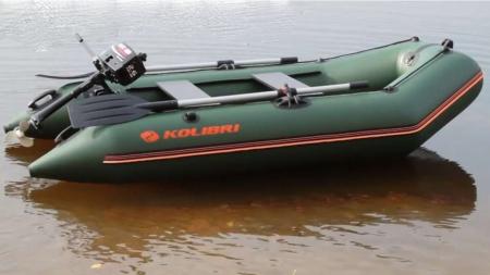 Barca Pneumatica KOLIBRI KM-300 + podină Tego [6]