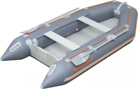 Barca KM-330 + podină pliabilă semirigidă cu extindere16
