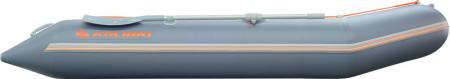 Barca KM-330 + podină pliabilă semirigidă cu extindere14