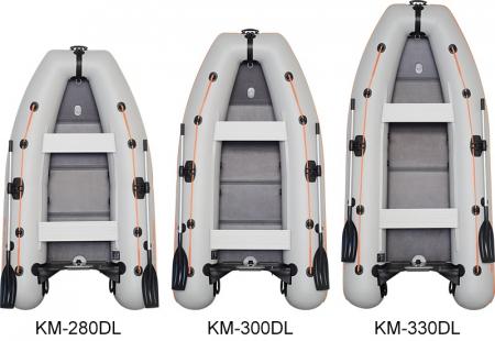 Barca KM-330DL + podină Tego3