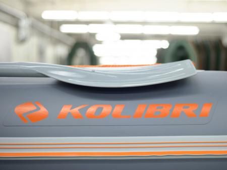 Barca KM-330DSL +podina regidă tego, întarită cu profil de aluminiu [1]