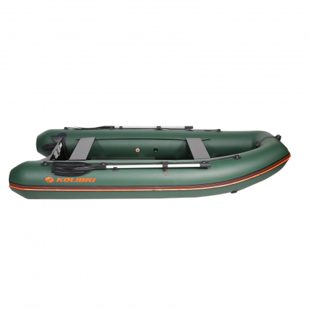 Barca KM-330DSL + podina de aluminiu1