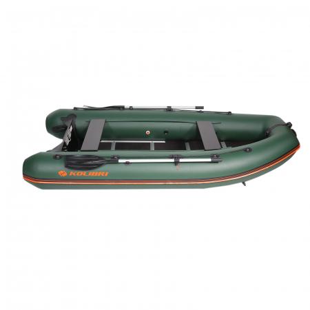 Barca Pneumatica KM-330DSL + podina regidă tego, întarită cu profil de aluminiu [20]
