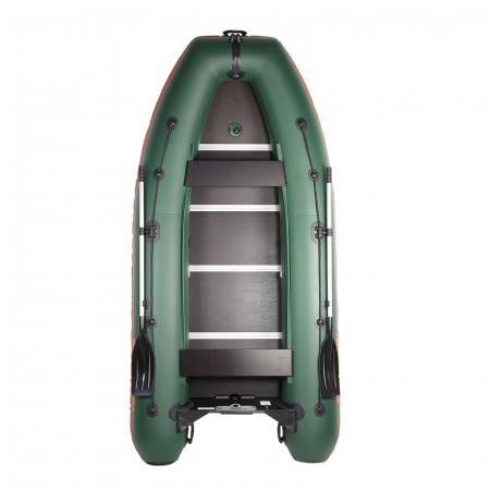 Barca Pneumatica KM-330DSL + podina regidă tego, întarită cu profil de aluminiu [15]