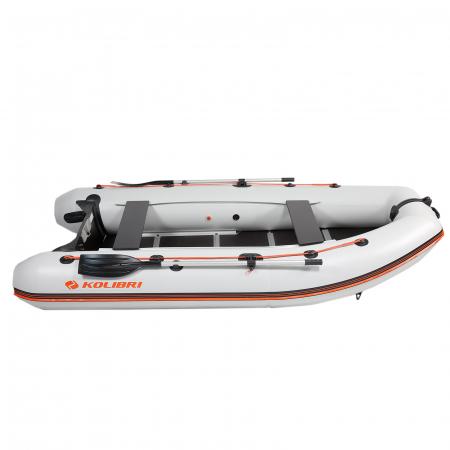 Barca Pneumatica KM-330DSL + podina regidă tego, întarită cu profil de aluminiu [3]