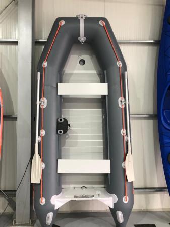Barca KM-360D + podina rigidă tego, întarită cu profil de aluminiu [4]