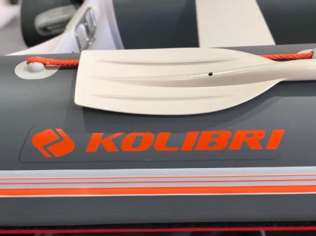 Barca KM-360D + podina rigidă tego, întarită cu profil de aluminiu [6]