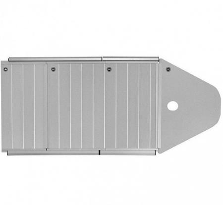 Barca KM-360DSL + podină aluminiu1