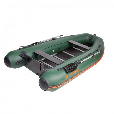 Barca Pneumatica KOLIBRI KM-360DSL + podină aluminiu [0]
