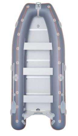 Barca KM-400DSL + podina de aluminiu [0]