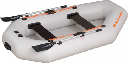 Barca K-240TS + podină pliabilă semirigidă0