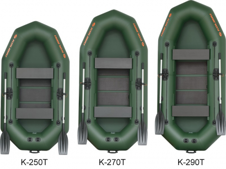 Barca K-270T + podină pliabilă semirigidă [5]
