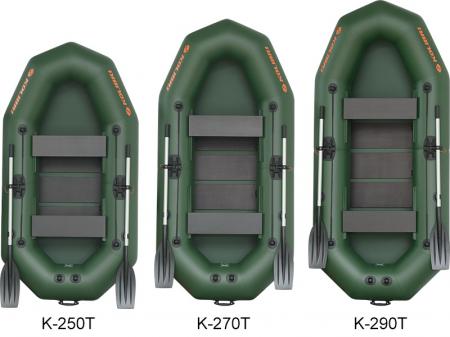 Barca K-290T + podină pliabilă semirigidă4