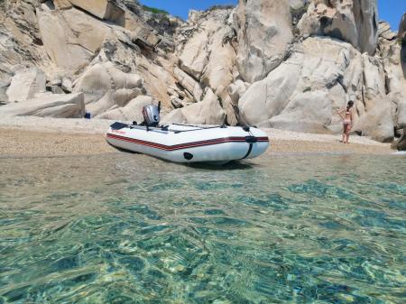 Barca Pneumatica KOLIBRI KM-300D + podina rigidă tego, întarită cu profil de aluminiu [6]