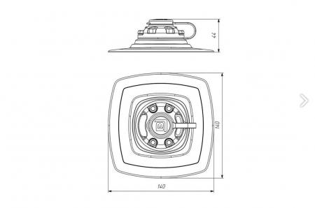 Baza pentru Suport FASTen BORIKA FMp225 (140x140 mm) [2]