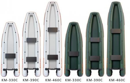 Canoe KM-460C + podină pliabilă semirigidă5