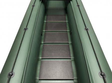 Canoe KM-460C + podină pliabilă semirigidă1