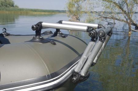 Scara aluminiu pliabila pentru barcă gonflabila FASTen BORIKA FLp032 + set Fmp225 [4]
