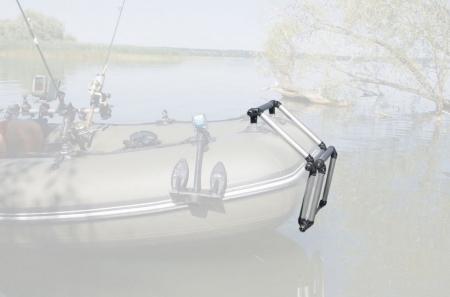 Scara aluminiu pliabila pentru barcă gonflabila FASTen BORIKA FLp032 + set Fmp225 [11]