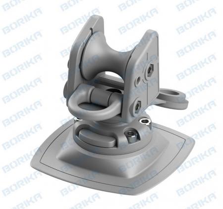 Suport rola cu un inel ancorare cu mecanism de înclinare FASTen BORIKA ARRp002 + baza FMb [1]