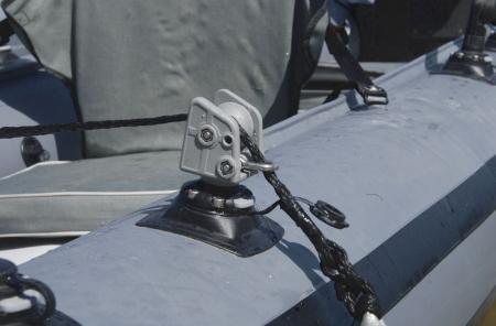 Suport rola cu un inel ancorare cu mecanism de înclinare FASTen BORIKA ARRp002 + baza FMb [2]