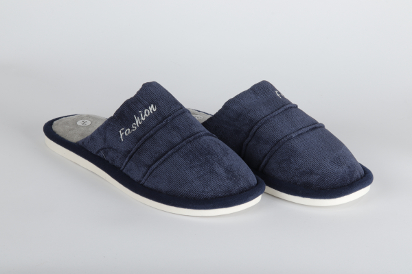 papuci de camera  culoare albastru inchis pentru barbati md 0