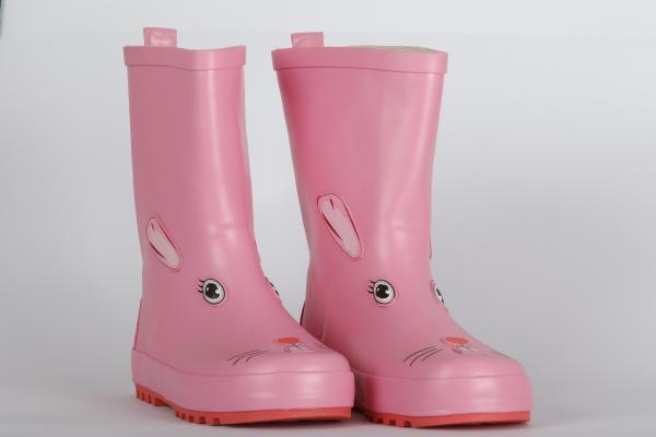 cizme de toamna cauciuc roz pentru copii chisinau 1
