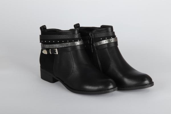 ghete chisinau negre scurte elegante de iarna [0]