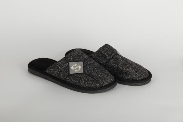 papuci casa barbati culoare negru 0