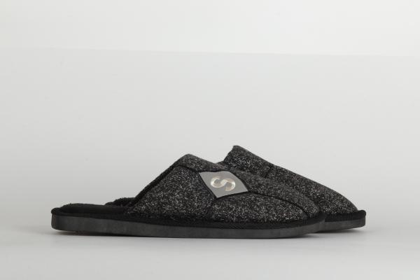 papuci casa barbati culoare negru 1