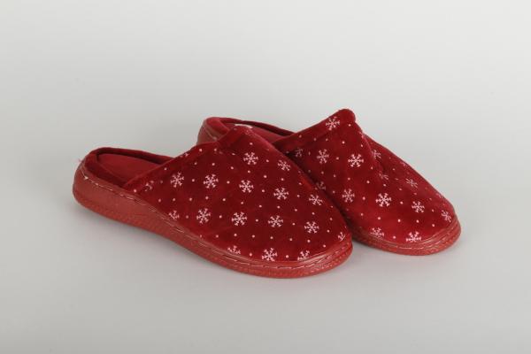 papuci casa femei culoare rosu md 0