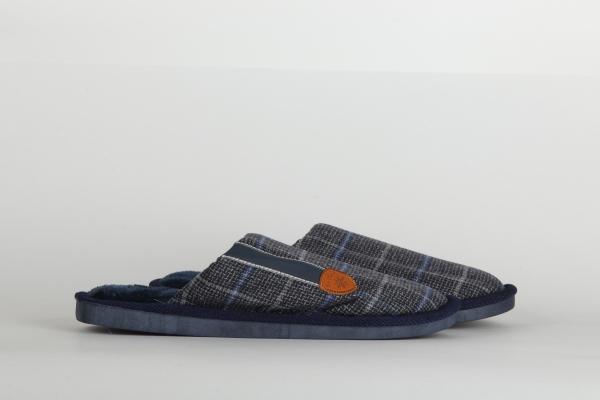 papuci de camera  culoare albastru confortabili pentru barbati chisinau 1