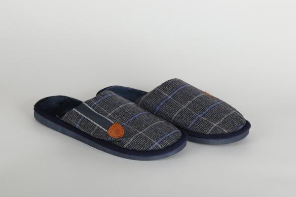 papuci de camera  culoare albastru confortabili pentru barbati chisinau 0