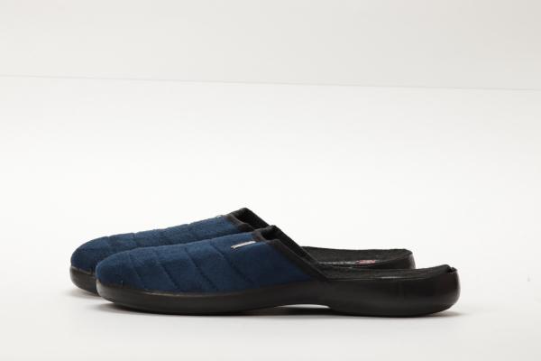 papuci casa culoare albastru inchis pentru barbati chisinau 1