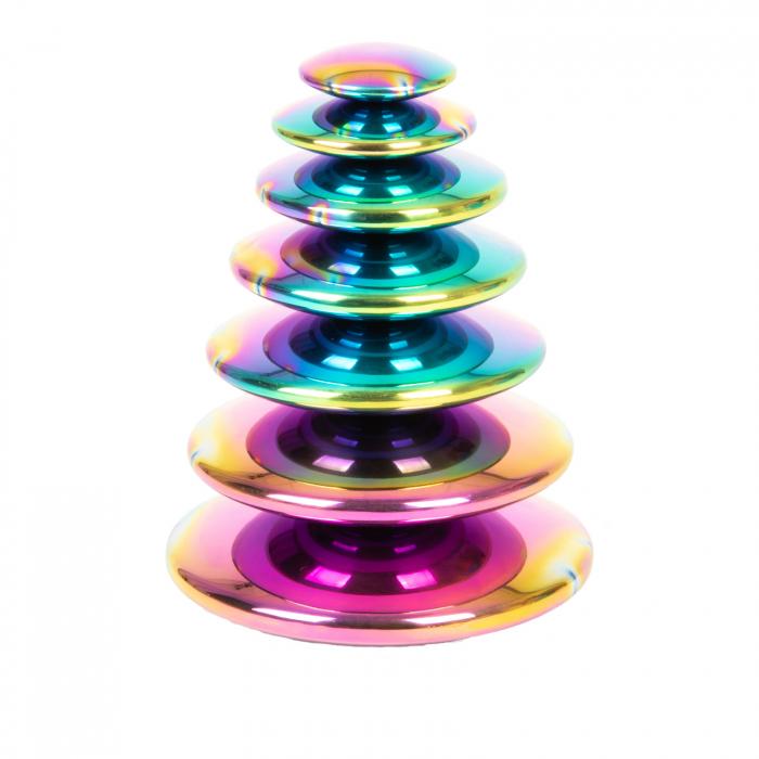 Discuri senzoriale reflective cu explozie de culori 0