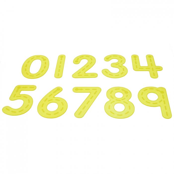 Numere amuzante galbene de trasat 0