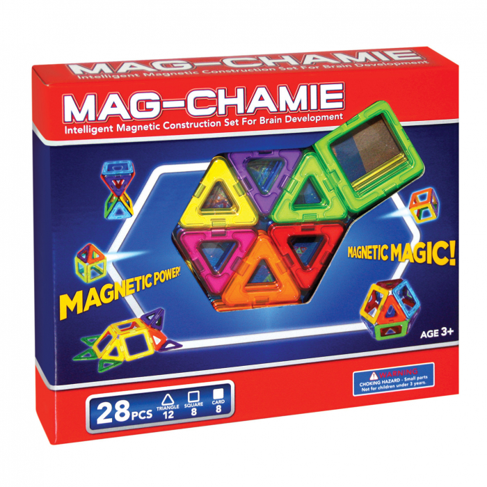 Joc de construcții magnetic spațial 0