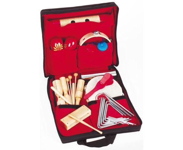 19 instrumente muzicale de joacă - set ritmicitate în sacoșă 2