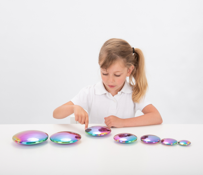 Discuri senzoriale reflective cu explozie de culori 2
