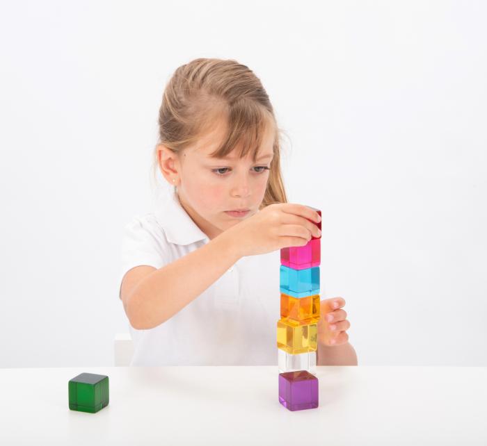Set de 8 cuburi de percepție senzorială 3