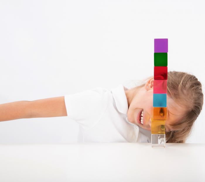 Set de 8 cuburi de percepție senzorială 4