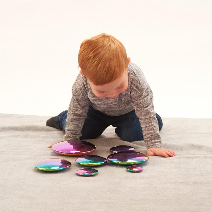 Discuri senzoriale reflective cu explozie de culori 4