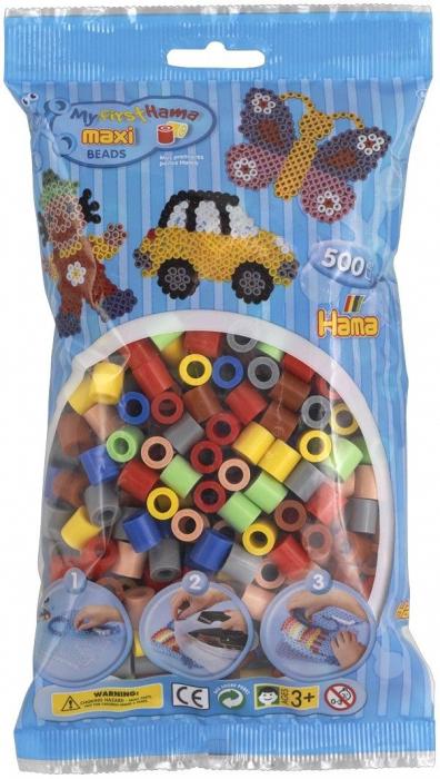 500 margele HAMA MAXI Mixt69 in saculet 0