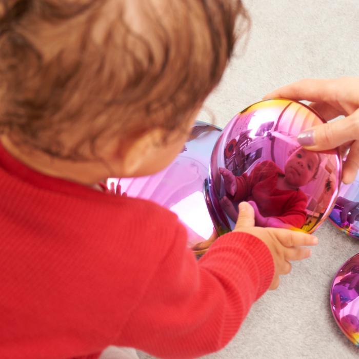Discuri senzoriale reflective cu explozie de culori 5