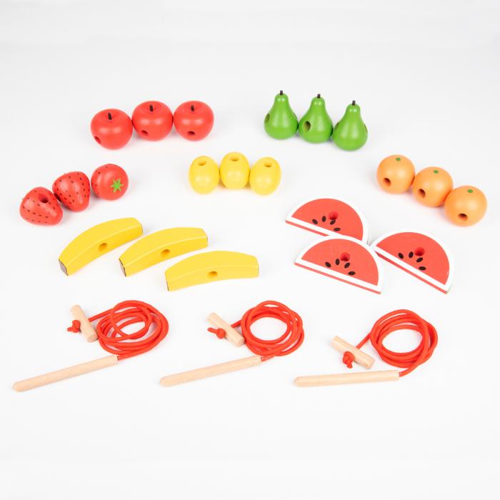 Fructe din lemn pentru înșirat 4