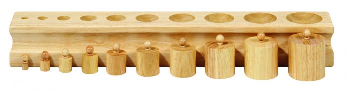 Cilindre montessori 1