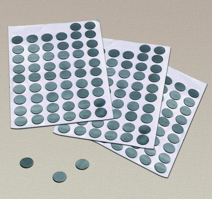 Buline autoadezive magnetice, set de 300 0