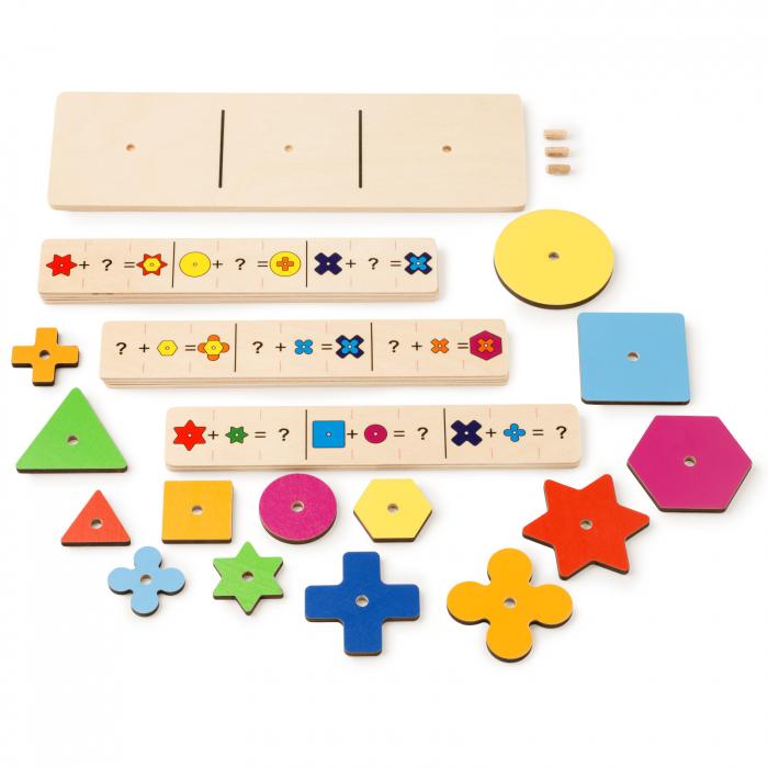 Joc de dezvoltare cognitivă, Construiește o Floare 0