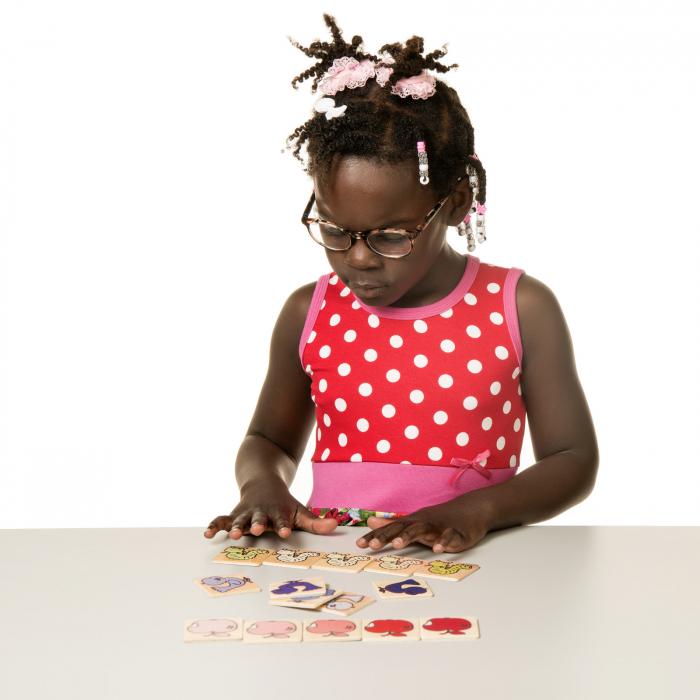 Joc de dezvoltare cognitivă  și recunoaștere nuanțelor, Închis-Deschis 3
