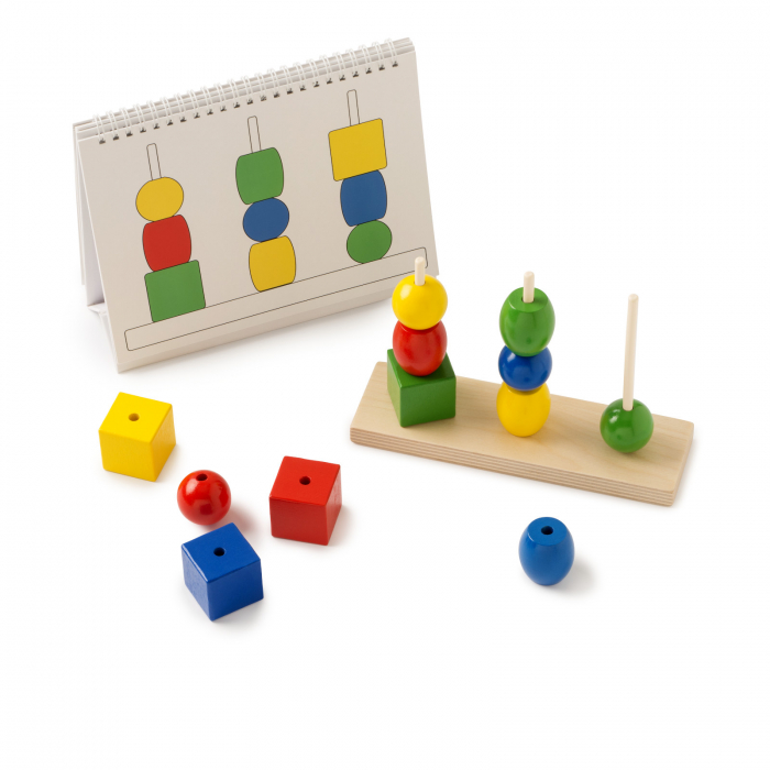 Joc de dezvoltare cognitivă, Construiește turnul 3